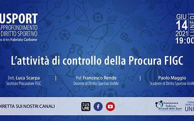 Diritto sportivo, il dott. Luca Scarpa su IusLaw Web Radio
