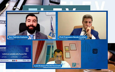 Le attività di controllo nello sport, talk web con il dott. Luca Scarpa (Sost Proc. Fgci)